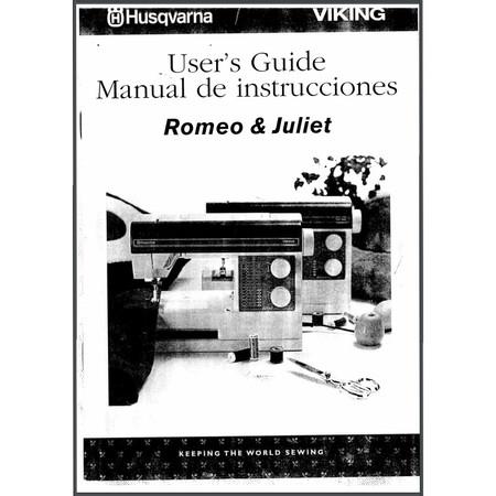 Instruction Manual, Viking Romeo and Juliet