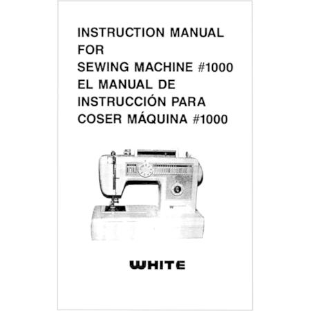 Instruction Manual, White 1000