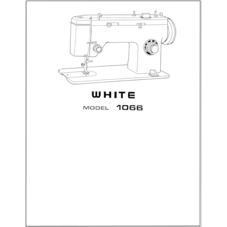 Instruction Manual White 40 Sewing Parts Online Custom White Sewing Machine Manual