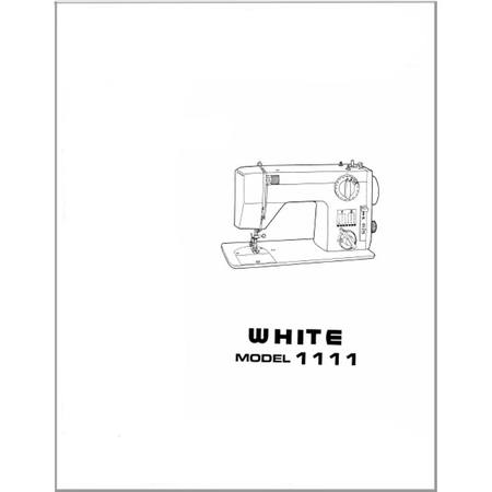 Instruction Manual, White 1111