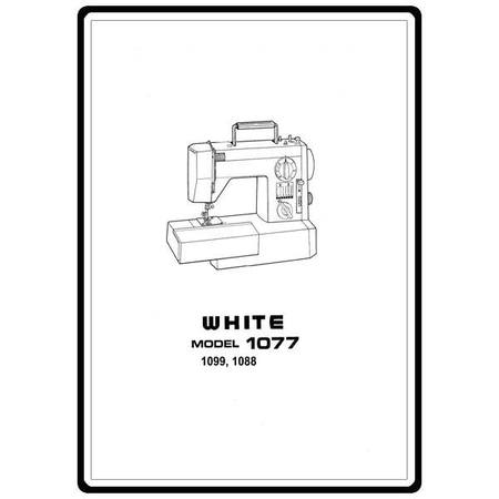 Instruction Manual White 40 Sewing Parts Online Simple White Sewing Machine Manual