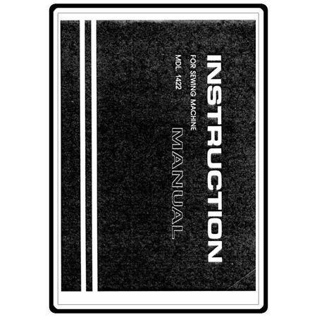 Instruction Manual, White 1422