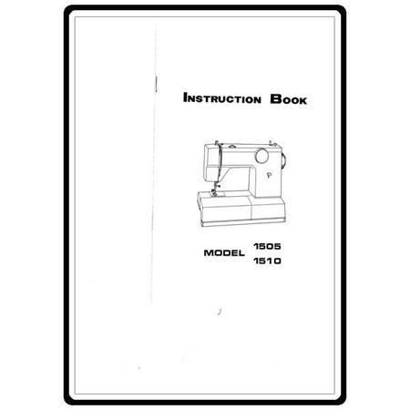 Instruction Manual, White 1510