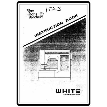 Instruction Manual, White 1523
