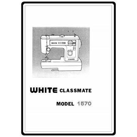 Instruction Manual, White 1570