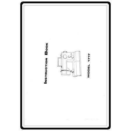 Instruction Manual, White 1717