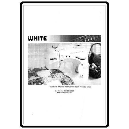 Instruction Manual, White 1740