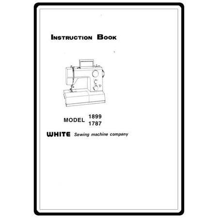 Instruction Manual, White 1899