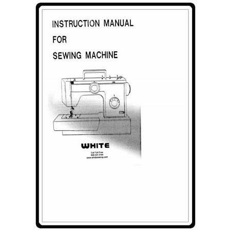 Instruction Manual, White 1888