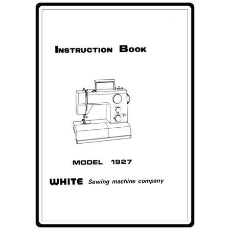 Instruction Manual, White 1927