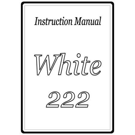 Instruction Manual, White 222