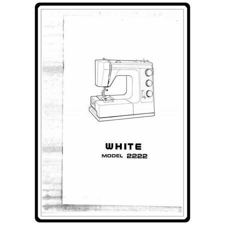 Instruction Manual, White 2222