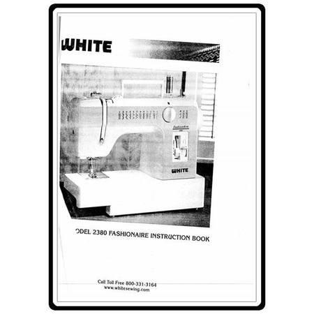 Instruction Manual, White 2380