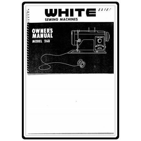 Instruction Manual, White 268