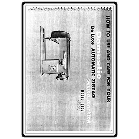 Instruction Manual, White 3954