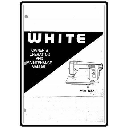 Instruction Manual, White 529