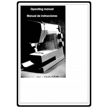 Instruction Manual, White 5839