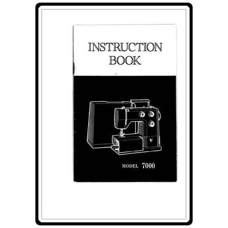 Instruction Manual, White 7000