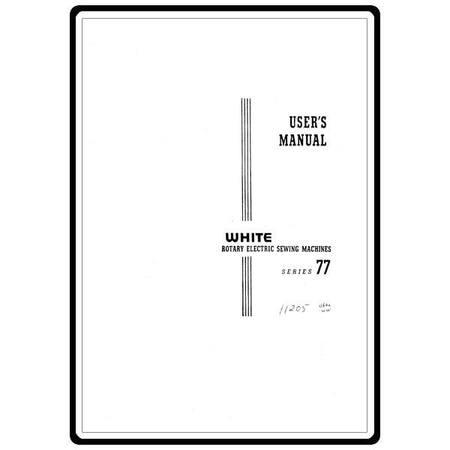 Instruction Manual, White 77