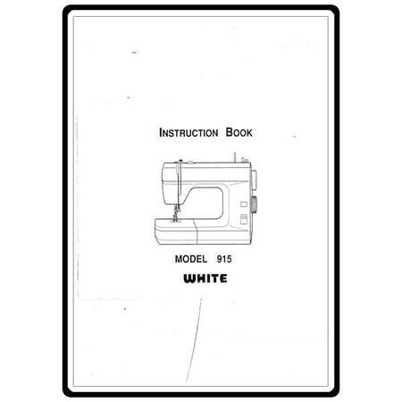 Instruction Manual, White 915