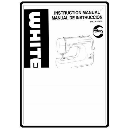 Instruction Manual, White 972