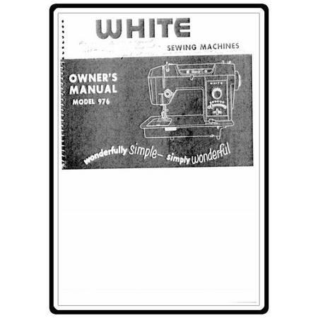 Instruction Manual, White 976