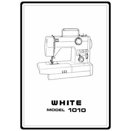 Instruction Manual White 40 Sewing Parts Online Gorgeous White Sewing Machine Parts