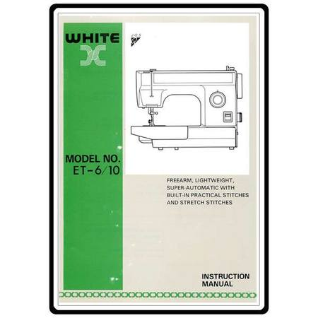 Instruction Manual, White ET6