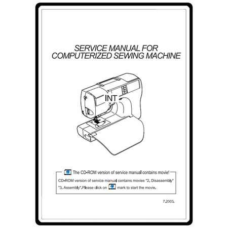 Service Manual, Babylock INT Intrigue