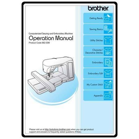 Instruction Manual, Brother Innovis 5000