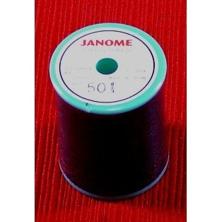 Black Embroidery Bobbin Thread, 328yds, Janome
