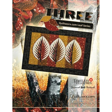 Three: Quiltworx.com Leaf Series Pattern, Judy Niemeyer