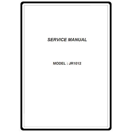 Service Manual, Janome JR1012
