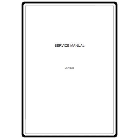 Service Manual, Janome JS1008
