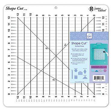 Shape Cuts 1/2in June Taylor