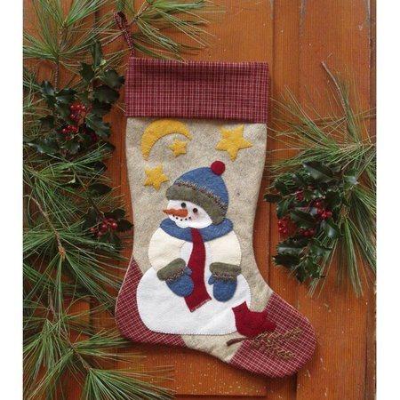 Snowman Stocking Kit