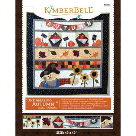 One Amazing Autumn! Wall Hanging Pattern, KimberBell Designs