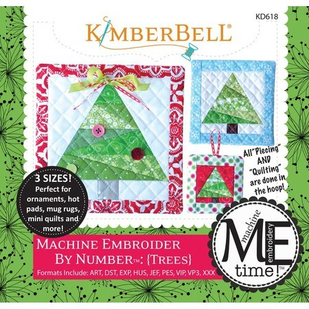 Machine Embroider By Number Trees Kimberbell Designs Sewing