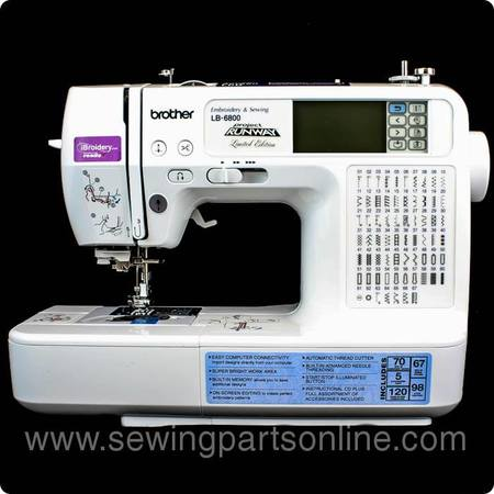 Brother LB6800PRW Project Runway Sewing and Embroidery Machine