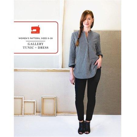 Gallery Tunic & Dress Pattern, Liesl & Co.