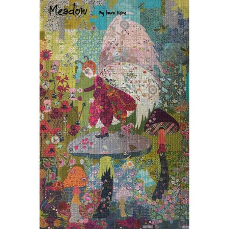 Meadow Collage Quilt Pattern