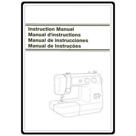 Instruction Manual, Brother LS-217