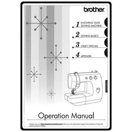 Instruction Manual, Brother LS2300PRW