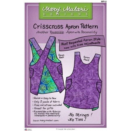 Crisscross Apron Pattern, Mary Mulari Designs
