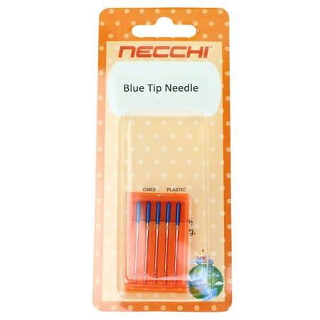 Blue Tip Needles, Size 11, 5pk, Necchi #NE200346007