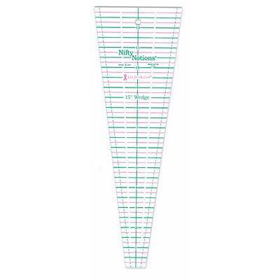 """""""Cut for the Cure"""" 15 Degree Triangle Ruler"""
