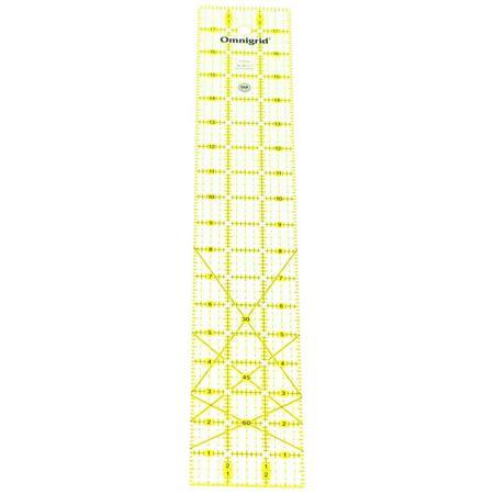 3in x 18in Ruler w/ grid, Omnigrid