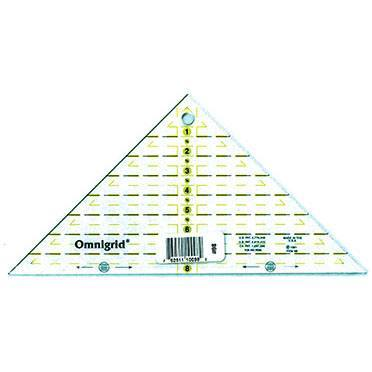 Omnigrid Triangle Ruler 8in