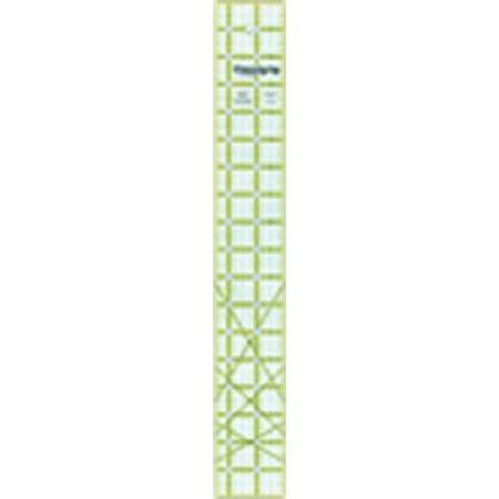 No-Slip Ruler  2.5in x 18in, Omnigrid