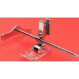 "1/4"" Clear Patchwork Foot w/ Guide, High Shank #P60605-G"